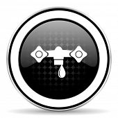 foto of hydraulics  - water icon - JPG