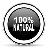 picture of 100 percent  - natural icon - JPG