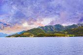 foto of fjord  - Fjord Lysefjord in Norway  - JPG