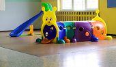 stock photo of tunnel  - plastic tunnel for children - JPG