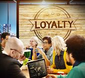 stock photo of honesty  - Loyalty Values Honesty Integrity Honest Concept - JPG