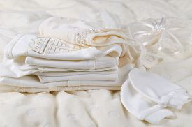 picture of christening  - Layette for newborn baby - JPG
