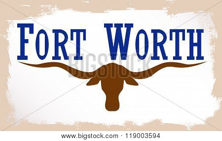 Flag Of Fort Worth