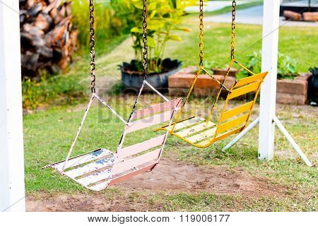 Swingset In The Park