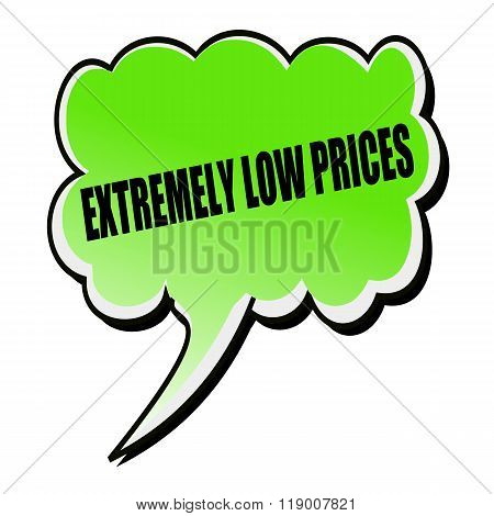 Extremely Low Prices Black Stamp Text On Green Speech Bubble