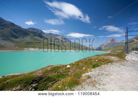 Alpine Landscape, Ospizio Bernina, Switzerland