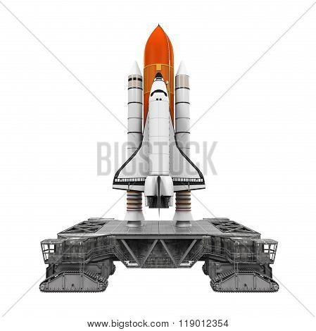 Space Shuttle and Mobile Launcher Platform