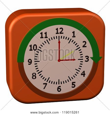 Concept - Daylight Saving Time Started