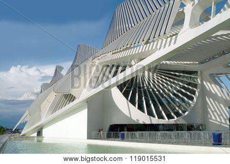 Museum Of Tomorrow (tomorrow Museum) In Rio De Janeiro, Brazil