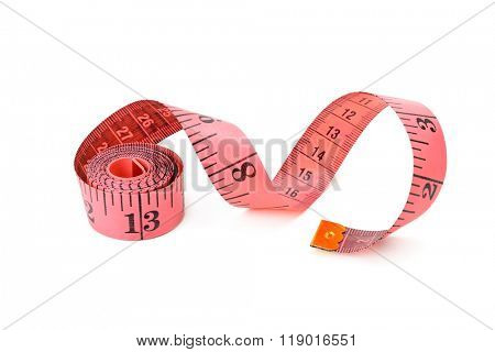 Metre isolated on white background