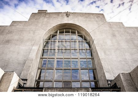 Radio Kootwijk Architecture Building, Gelderland, Holland