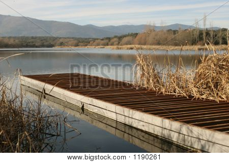 Dock In A Lake