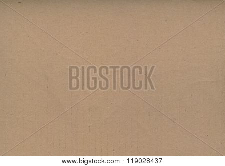 Texture Of Brown Envelope Paper.