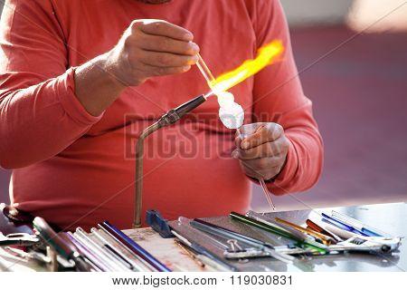 Glass Making Process - Lampwork