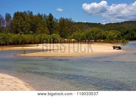 The  Blue Lagoon   Coastline Nosy Iranja