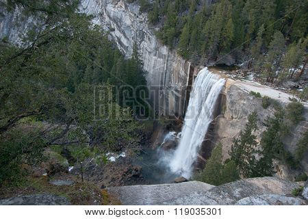 Nevada Waterfalls In Yosemite