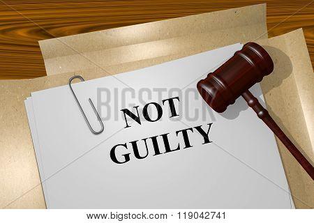 Not Guilty Concept