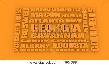 Georgia State Cities List