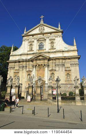 Saints Peter And Paul Church In Krakow