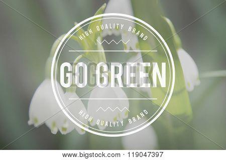 Go Green Ecology Environment Natural Concept