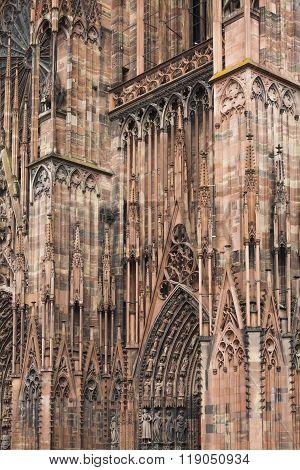 Strasbourg Cathedral (notre Dame), France