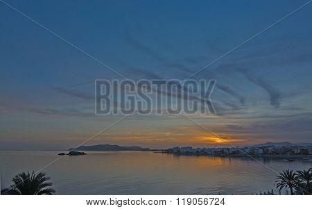 Dusk Seaside View
