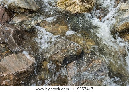 Brook Fast Flowing Water