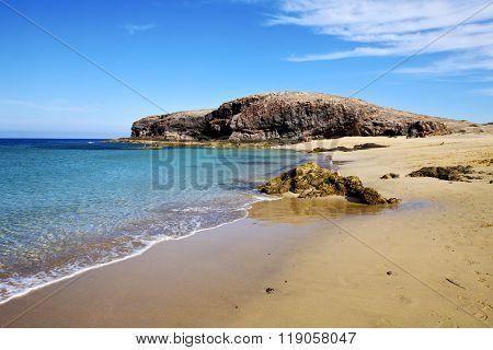 Water In Lanzarote   Froth  Spain  Rock Stone   Cloud     Musk   Summer