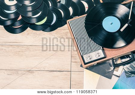 Player Record Vintage