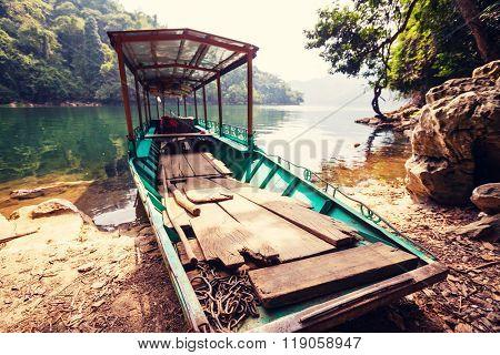Serenity BaBe Lake in Vietnam