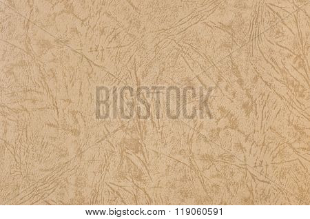Paper Texture With Embossed Pattern