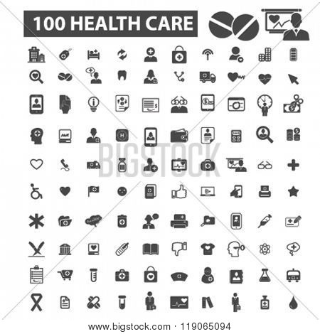 health icons, health logo, health care icons vector, health care flat illustration concept, health care infographics elements isolated on white background, health care logo, health care symbols set