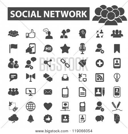 social network icons, social network logo, social media icons vector, social media flat illustration concept, social media logo, social media symbols set, networking, connection, communication