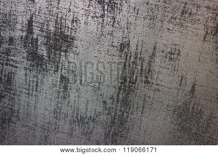 Wall texture Silver Paint background.