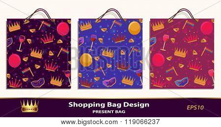 Purim present bags