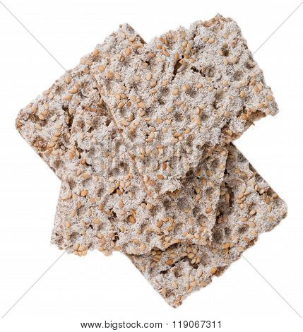 Crispbread (isolated On White)