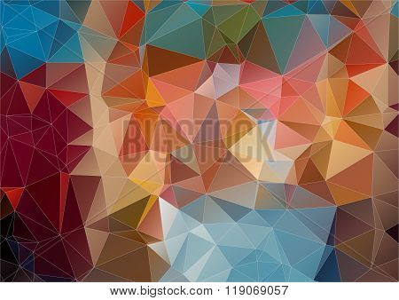 abstract background consisting of angular
