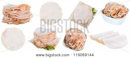 Chicken Breast Fillet (selective Focus) Isolated On White