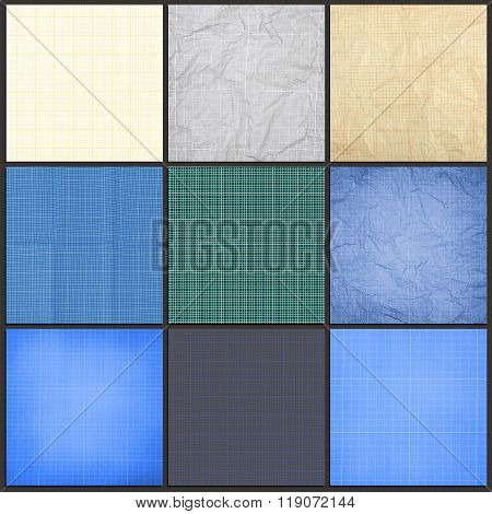 Collection Of Blueprint Background