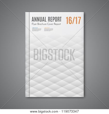 Vector  Corporate Business Annual Report Book Cover Brochure