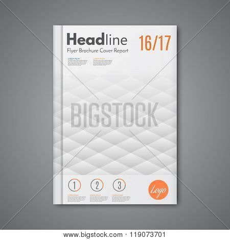 Vector Abstract Low Polygonal Shape Background For Corporate Business Annual Report
