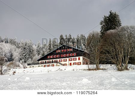 Single Hotel In French Mountains, Ski Resort
