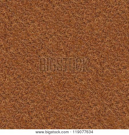 Seamless coir fibre texture background.