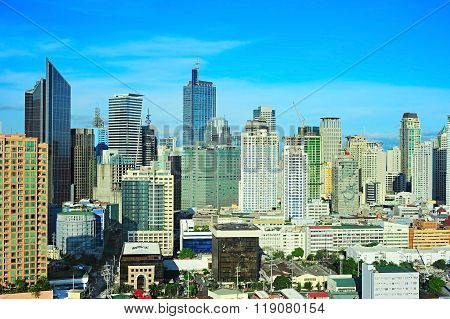 Business Center Of Manila, Philippines