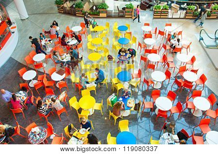 Food Court, Top View
