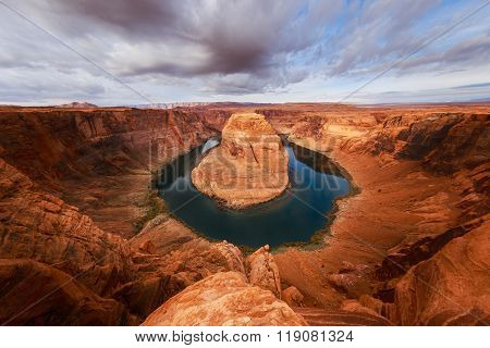 Arizona Horseshoe Bend on Colorado River