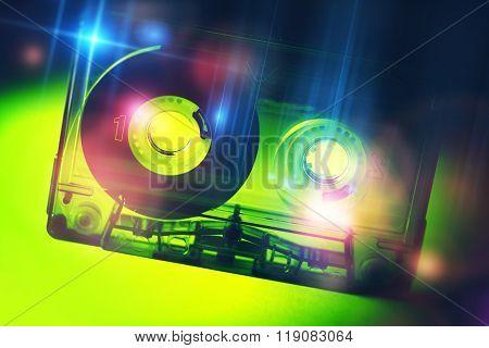 Retro Disco Cassette