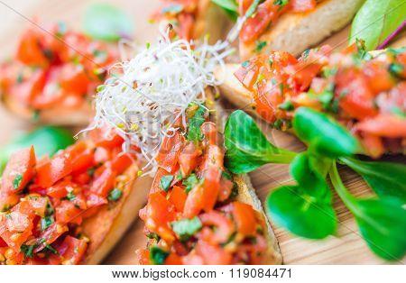 Tomatoe Italian Bruschetta