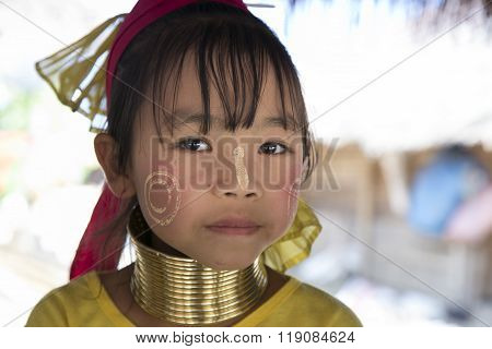 Karen Tribe girl, Thailand