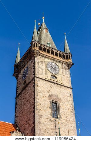 Town Hall Of Prague